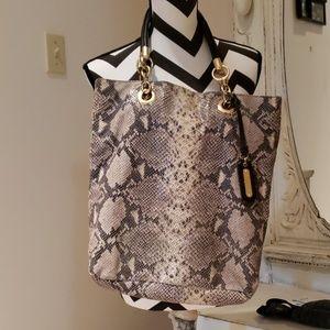 Cynthia Rowley Snake skin purse